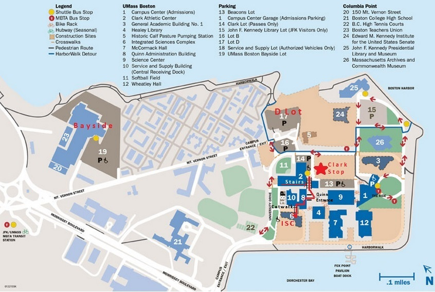 Umass Boston Map | dijkversterkingbas